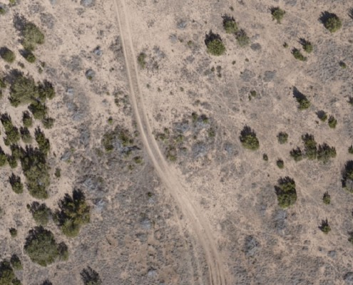 Image taken by a UAV