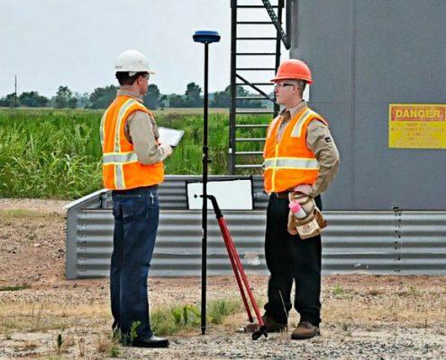 Land Surveyors On a Site
