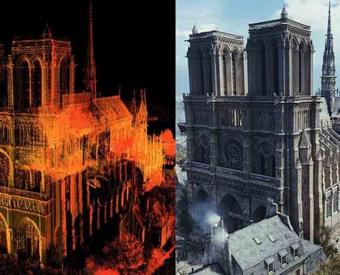 3D Architecture Modeling Notre Dame