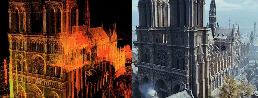 3D Architecture Modeling Notre Dame